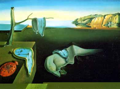 'Persistence of Time' - Salvador Dali